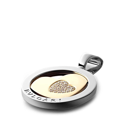Bulgari pendant yellow gold