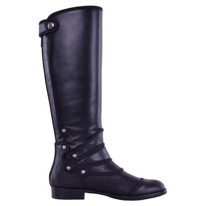 Dolce & Gabbana Stivali alti al ginocchio