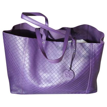 Bottega Veneta Shopper in purple