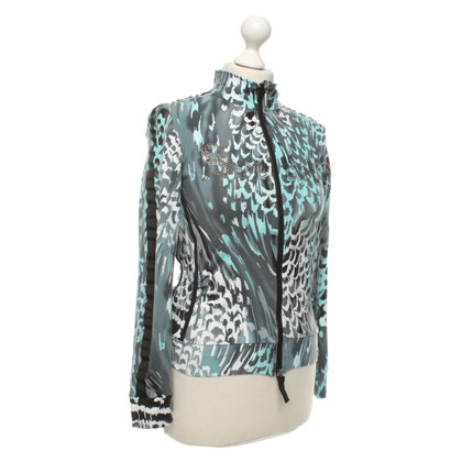 Airfield Sportive bomber jacket with pattern