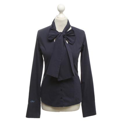 Pinko Thongs blouse in blue