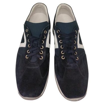 Cesare Paciotti Sneaker in blue / white