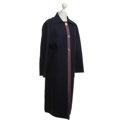 Hermès Wool coat with Ribbon