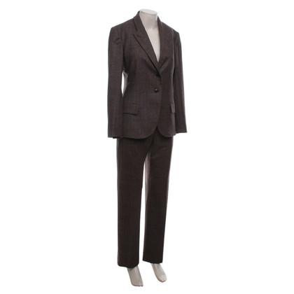 Salvatore Ferragamo Tailleur pantalone in Brown