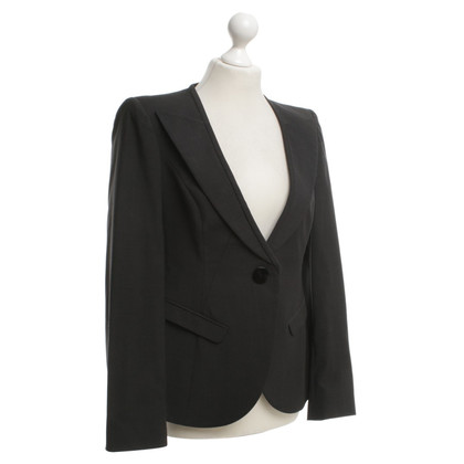 Armani Lana giacca in antracite