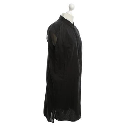 Drykorn Blouse dress in black