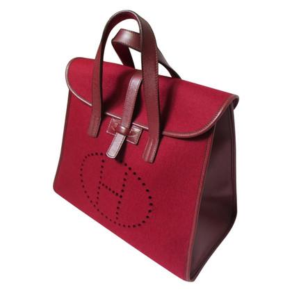 """Hermès  """"Feudoux"""" in Rot"""