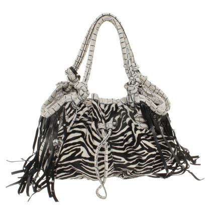 Blumarine Handbag made of fur