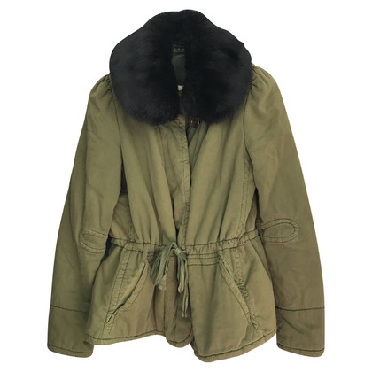 Isabel Marant Etoile Winter coat with fur trim