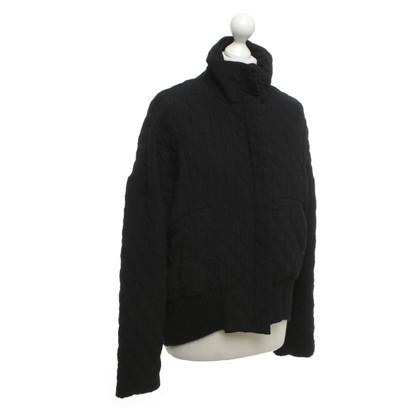 Ann Demeulemeester Jacket in black