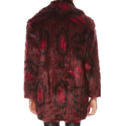 Karl Lagerfeld Fake Fur Coat