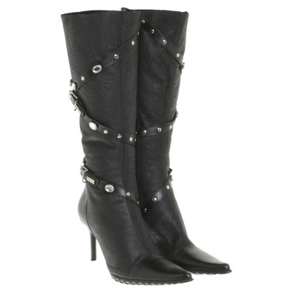 Luciano Padovan Boots in black