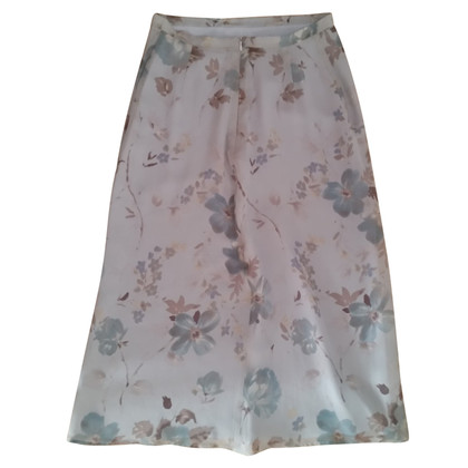 Max Mara Patterned silk skirt