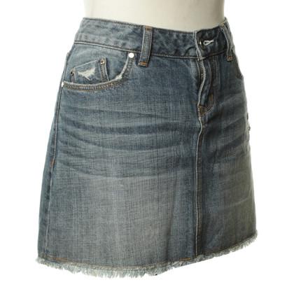 Karen Millen Jeans-Rock in Blau