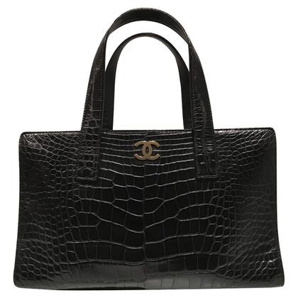 Chanel Shopper realizzato in pelle di coccodrillo