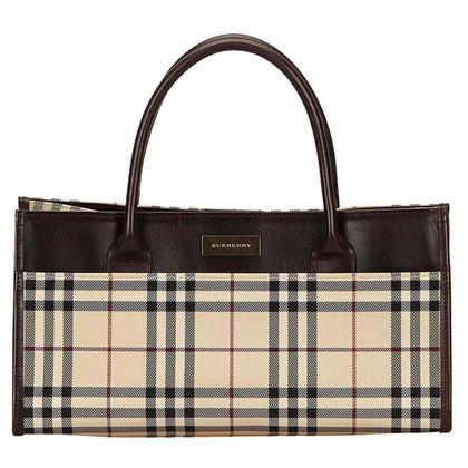Burberry Burberry Plaid Jacquard Handbag