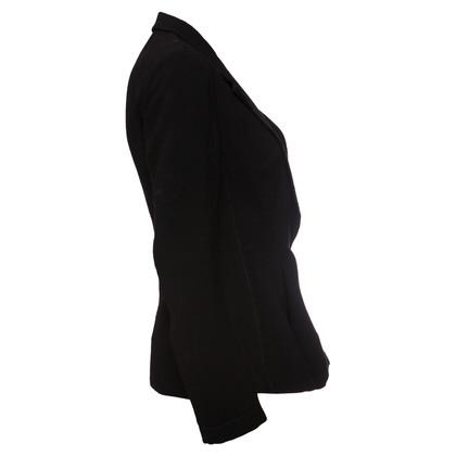 Yohji Yamamoto Giacca di lana nera