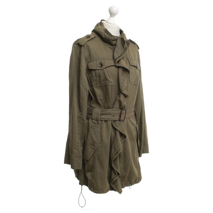 Marc Cain Parka in olive green