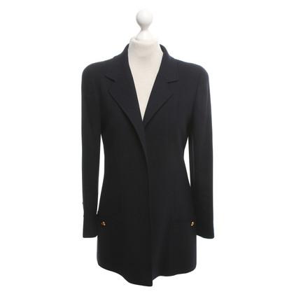 Chanel Uniform Blazer en bleu foncé