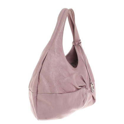 Coccinelle Pink leather handbag