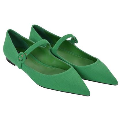 Dolce & Gabbana Ballerinas in green