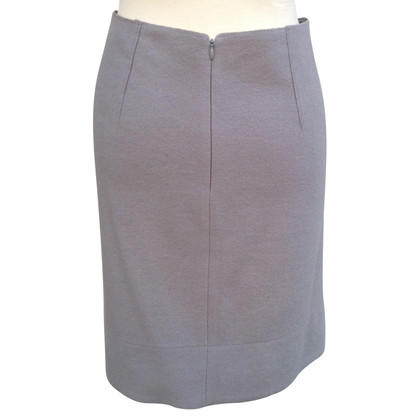 Luisa Cerano Wool skirt in gray by Luise Cerano