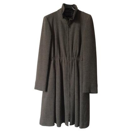 Giorgio Armani Gewatteerde winterjas van wol