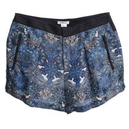 Helmut Lang Short shorts with floral print