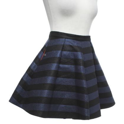 Iceberg skirt with stripe pattern