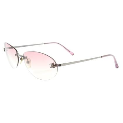 Chanel Sonnenbrille in Rosé
