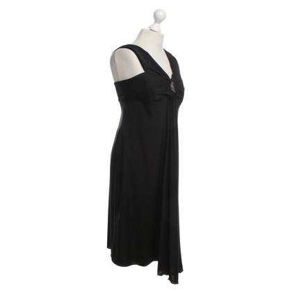 Armani Abendkleid mit Strassapplikation