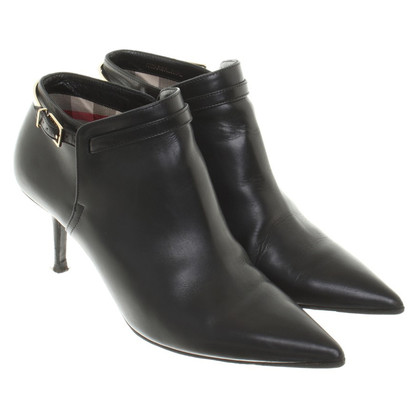 Burberry Ankle Boots in Schwarz