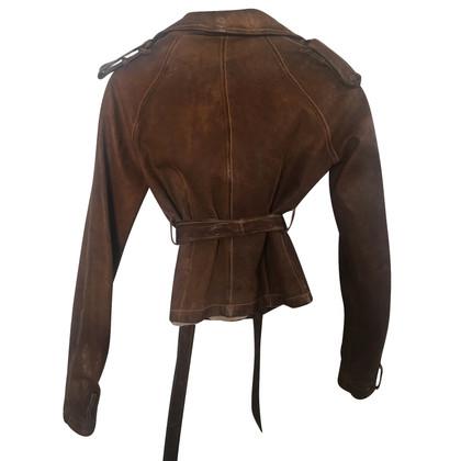 Giorgio Brato giacca di pelle