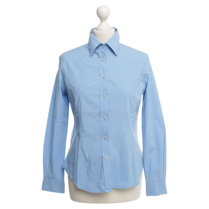 Burberry Bluse in Hellblau