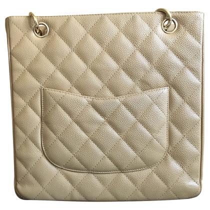"""Chanel """"Petite Shopping Tote"""" dalla pelle caviale"""