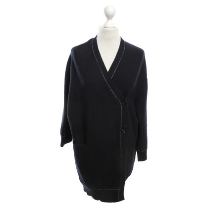 Hope Knitted coat in dark blue