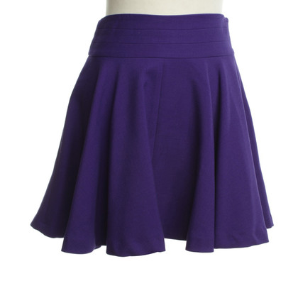 Milly Violet mini skirt