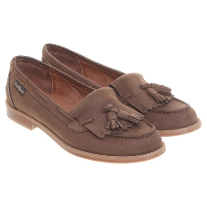 Russell & Bromley Suede slipper in Brown