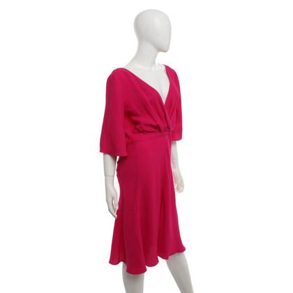 Gucci Seidenkleid in Pink