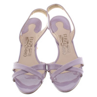Salvatore Ferragamo Sandals Patent Leather