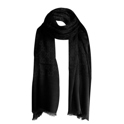 Gucci Scarf made of wool/silk