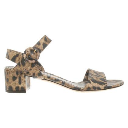 Dolce & Gabbana Sandali con motivo