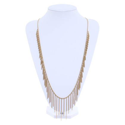 Michael Kors Gold chain fringe
