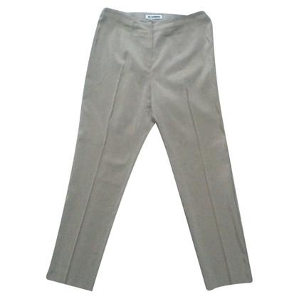 Jil Sander pantaloni di seta