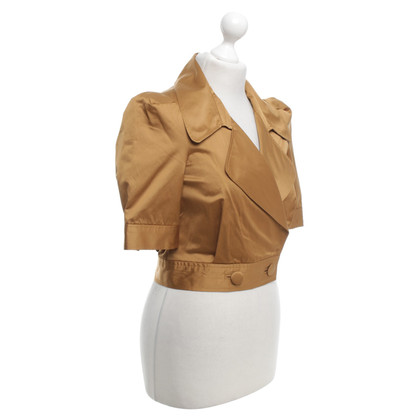 French Connection Jacket in ocher