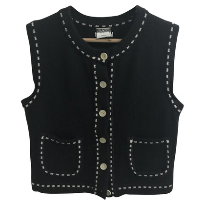 Moschino Wool knitted vest