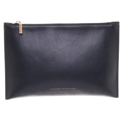 Victoria Beckham clutch in nero