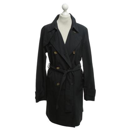 Moncler Raincoat in dark blue