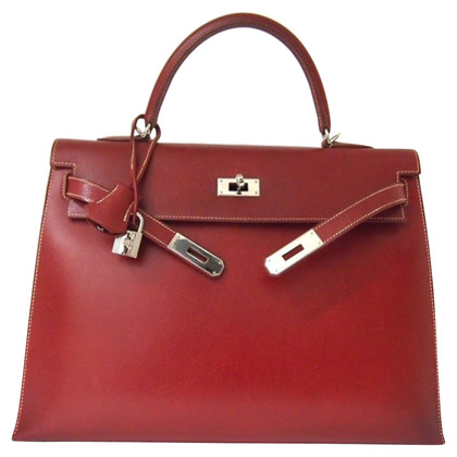 "Hermès ""Kelly Bag 35 Sellier Red"""