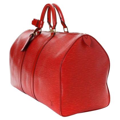 "Louis Vuitton ""Keepall 50 Epi Leder"""